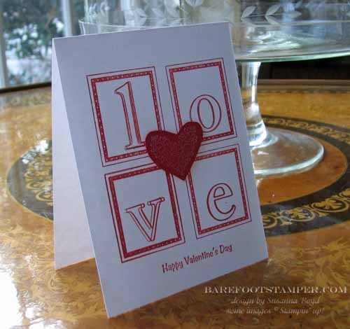 Card of the Week – Late Valentine Cards